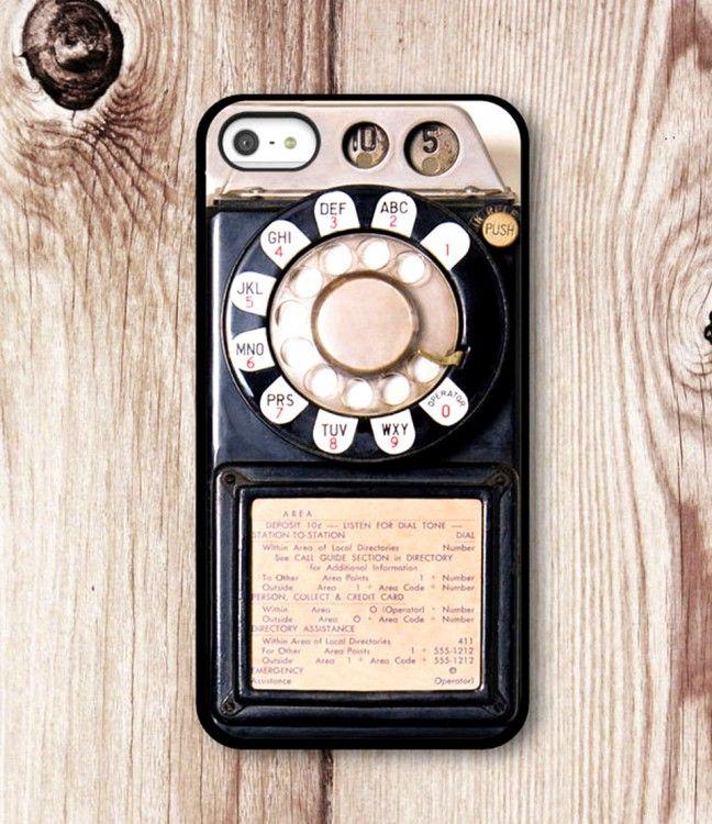 FUNDA PARA CELULAR CON FORMA DE UN TELEFONO DE RUEDA