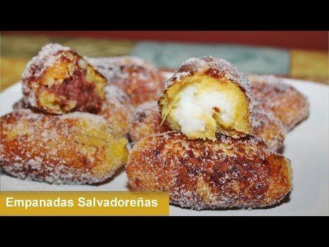 Deliciosas Empanadas de Frijol y de Poleada INGREDIENTES Y TIPS: - 3 Platanos Maduros (No demasiado maduros) -1 1/2 taza de Leche - Rajitas de Canela - 3 Cda...