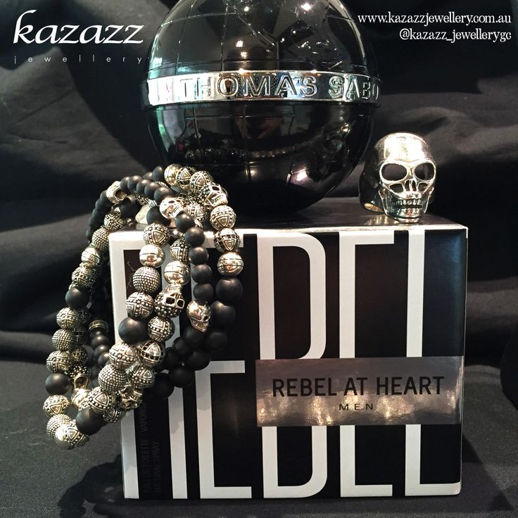 Remember Fathers Day!!  Rebel at Heart Men range at Pacific Fair Kazazz Store. @thomassabo