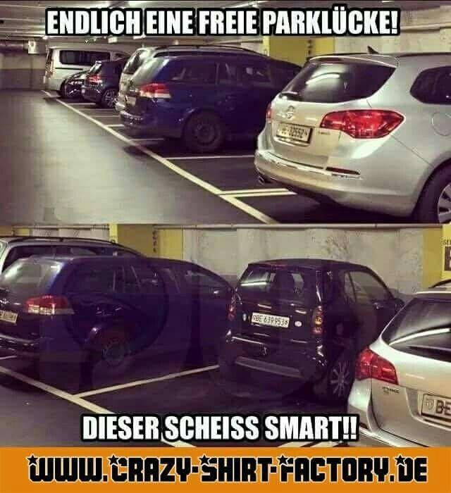 :)))  #crazys #prost #fun #spass #rauchen #trinken #verrückt #saufen #irre #crazyshirtfactory #geilescheiße #funpic #funpics #smart #parkplatz