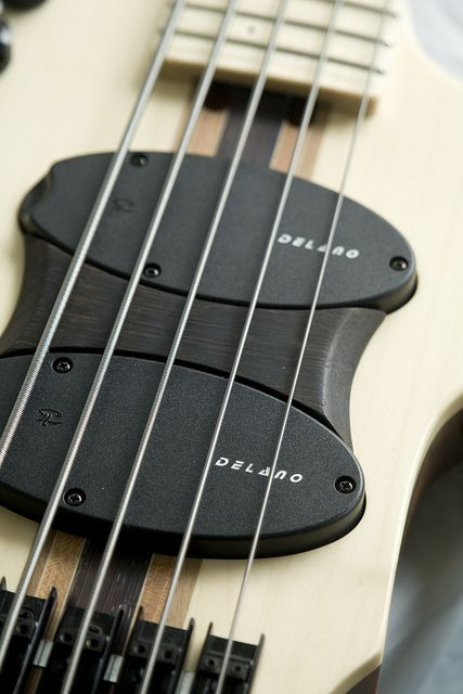 "Paul Lairat Stega 5-string ""Christopher Bolte"" bass"