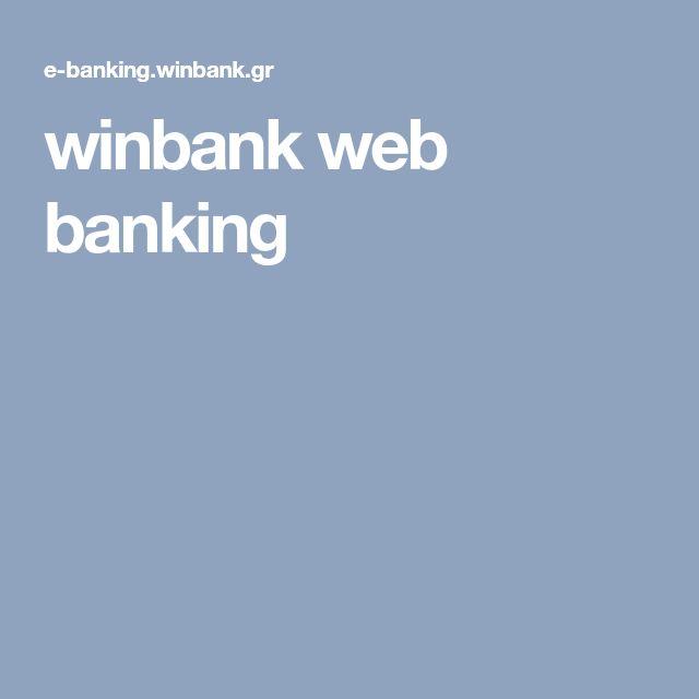 winbank web banking