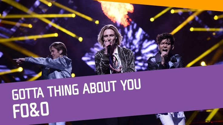 FO&O–Gotta Thing About You.  Thank God that they re at the final. =)