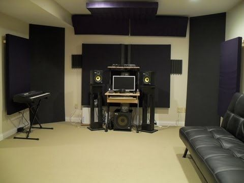 How to build corner bass traps floor to ceiling youtube - Bedroom studio acoustic treatment ...