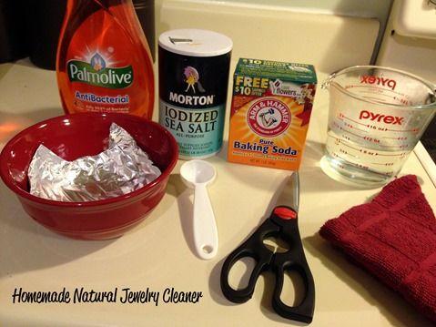 Natural Homemade Jewelry Cleaner - New Mama Diaries #AODlinkup