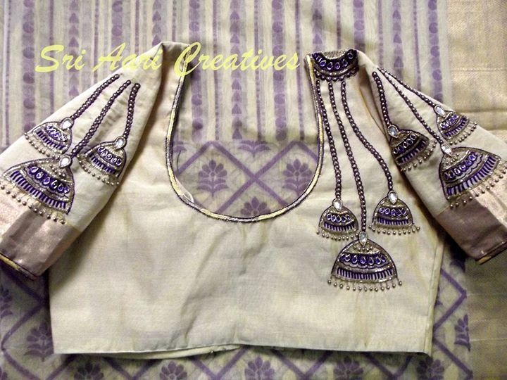 We take orders for Designer blouses. We conduct classes for Aari embroidery. HTTPS://WWW.Facebook.com/sriaaricreatives Located in Chennai, India. For order contact: Whatsapp:+919842995293