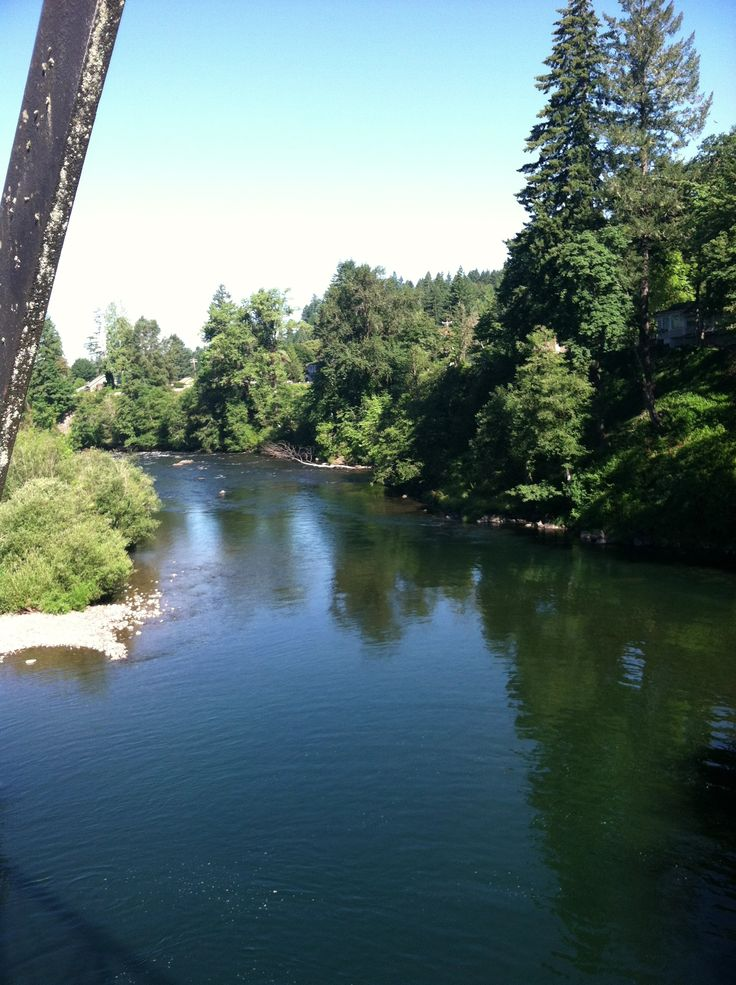 Santiam river mill city or where i come frommill