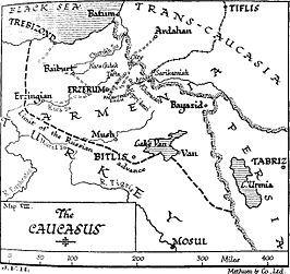In Agri vond de veldslag 'Kara Killise' plaats. Deze veldslag vond plaats van 4 Augustus tot 15 Augustus 1915. Deze veldslag ging tussen het Ottomaanse Rijk en Duitsland. De winnaar van deze veldslag was het Ottomaanse Rijk.