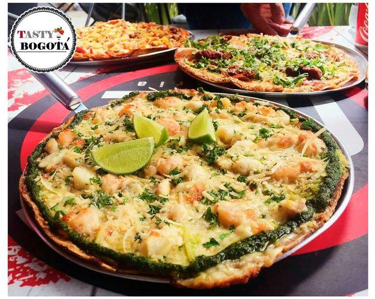 Pizza de frutos del mar One pizzeria
