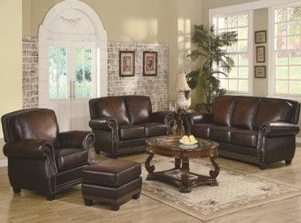Anna Leather Sofa
