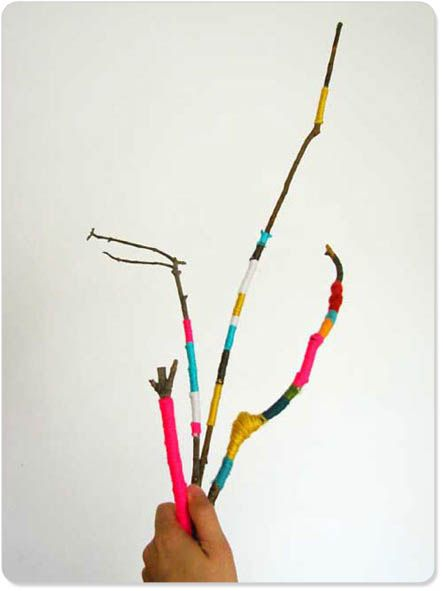 1000 Images About Yarn Stick Ideas On Pinterest Yarns