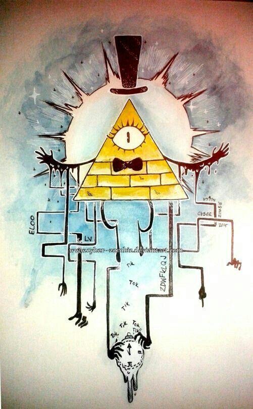 Bill Cipher; Gravity Falls