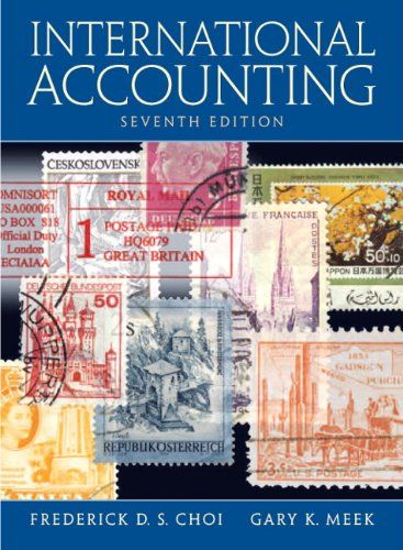 I'm selling International Accounting (7th Edition) by Frederick D. Choi and Gary K. Meek - $30.00 #onselz