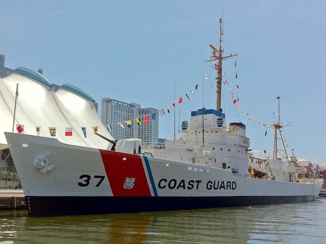 Historic Ships in Baltimore – USCGC Taney | Exploratorius
