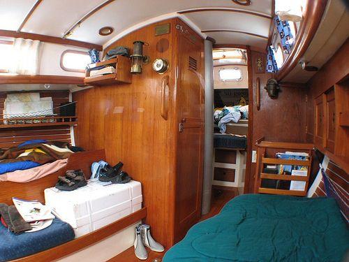 Cabin interior looking forward by flugeler, via Flickr