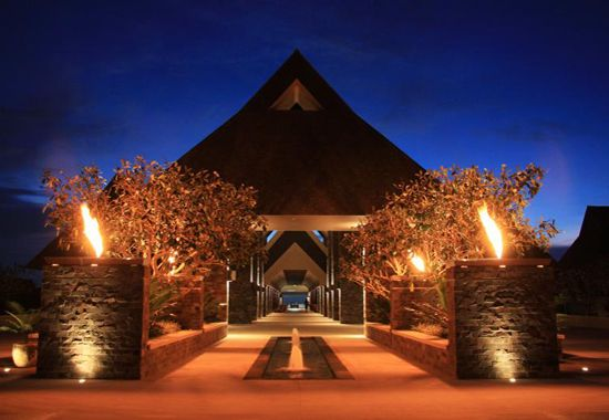 intercontinental fiji golf resort and spa lobby #fiji #Holiday #Packages