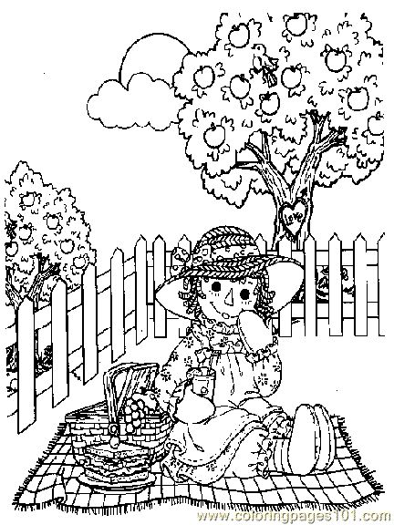 raggedy ann coloring pages raggedy ann and andy001 12
