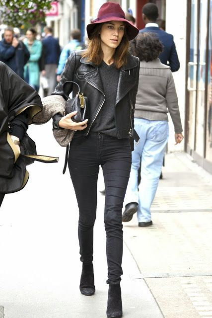 Alexa Chung Style #chic #effortless #fallfashion