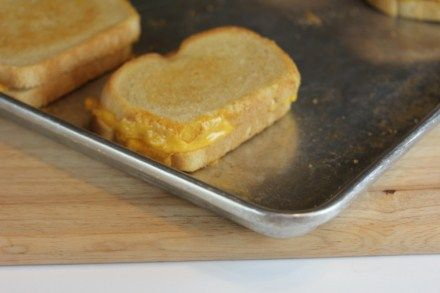 Oven Grilled Cheese Sandwiches