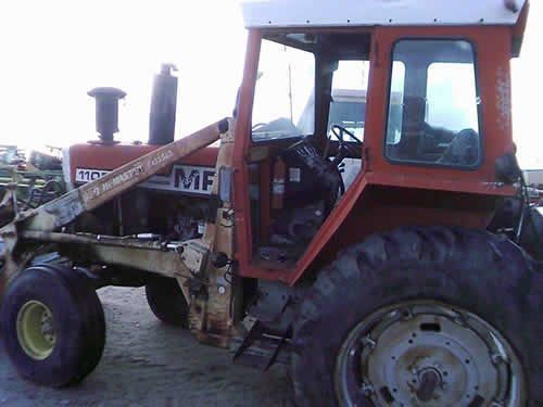 Tractor Equipment Salvage Yards : Massey ferguson tractor salvaged for used parts call