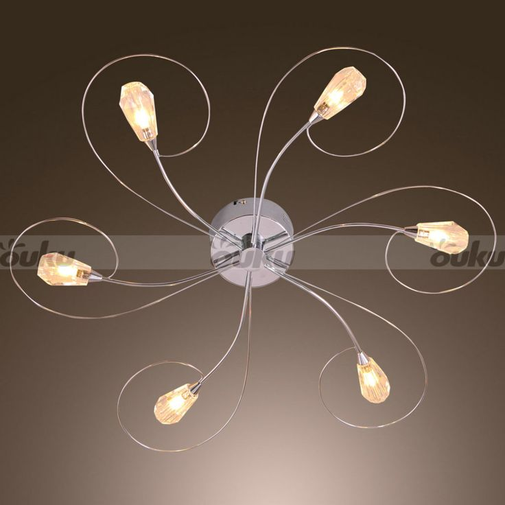17 best ideas about modern ceiling fans on pinterest for Cool modern light fixtures