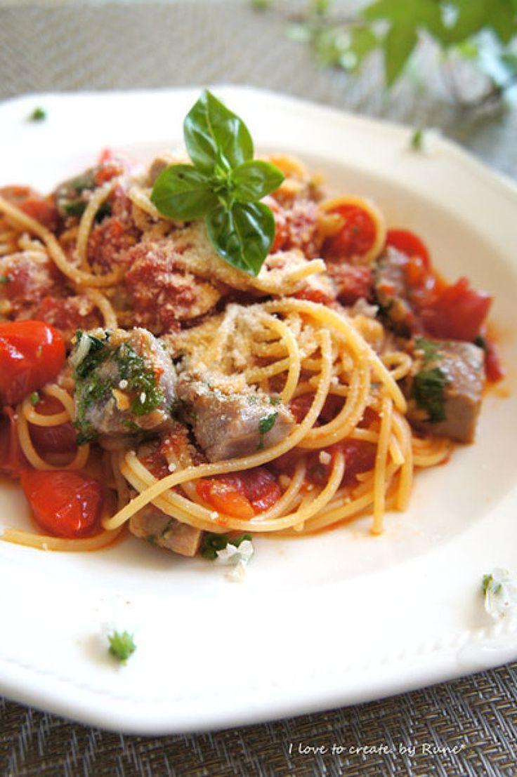 マグロ漬けサイコロのトマトソースパスタ by ルネ吉村 | レシピサイト「Nadia | ナディア」プロの料理を無料で検索