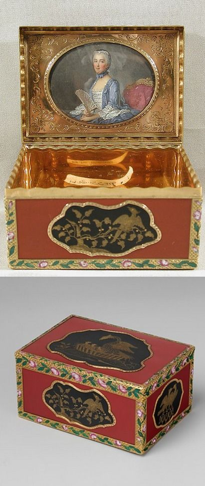 Snuffbox Maker: Jean Ducrollay (French, born 1709, master 1734, recorded 1760)…