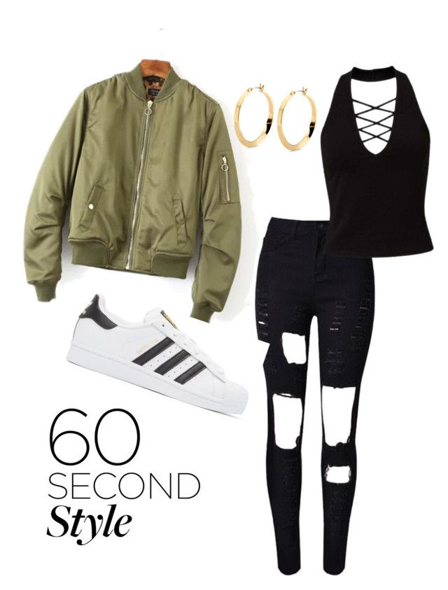 """""""Drake's Concert"""" by raja-nee-lyric on Polyvore featuring WithChic, Miss Selfridge, adidas Originals, DRAKE, views and 60secondstyle"""