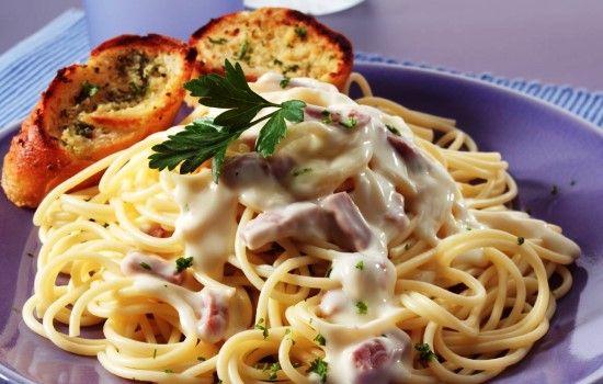 Рецепт пасты карбонара с ветчиной и сыром, секреты выбора