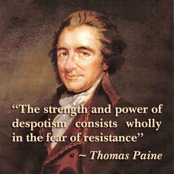 Thomas Paine Quotes: 1000+ Thomas Paine Quotes On Pinterest