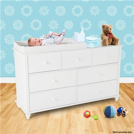 $302.37,Save $129.58 - White - Save on a White Baby Changing Table with Four Drawers-Small at CrazySales.com.au -This White Baby Changing Table with Four Drawers-Small is ideal for any home nursery.
