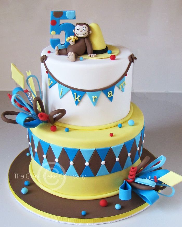 Curious George Cake | Flickr - Photo Sharing!
