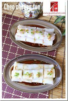 Chinese Rice Noodle Roll aka Chee Cheong Fun (猪肠粉)    #guaishushu #kenneth_goh     #chee_cheong_fun