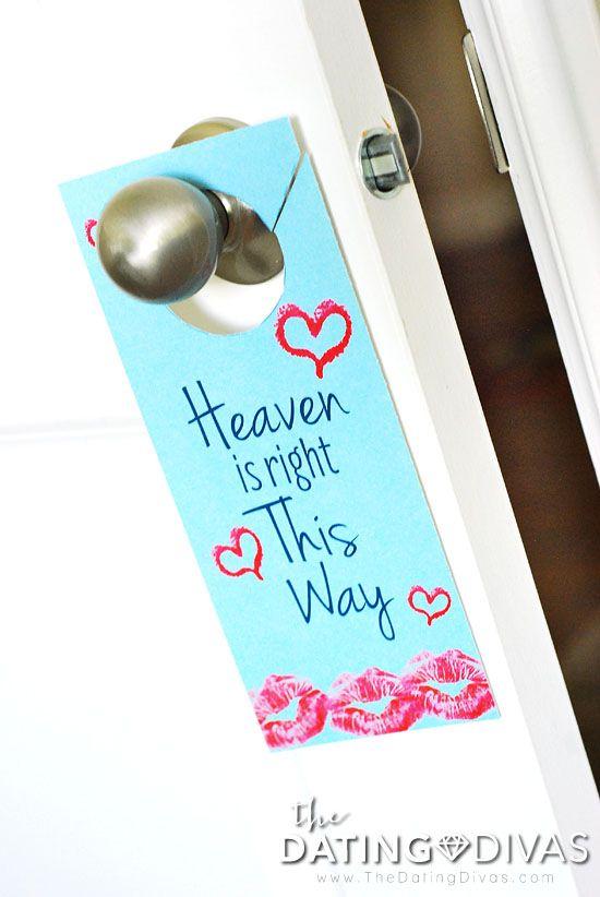Privacy Door Hanger: 2 Minutes In Heaven Bedroom Game Idea