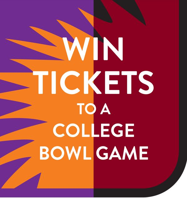 Win Tickets to a College Bowl Game