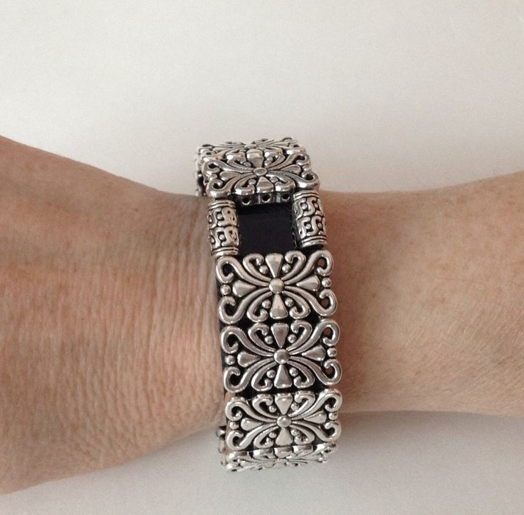 FitBit Charge Bracelet and FitBit Charge HR Bracelet: Silver Edinburgh Scroll with Window by FITnessBITsy on Etsy https://www.etsy.com/listing/223963726/fitbit-charge-bracelet-and-fitbit-charge