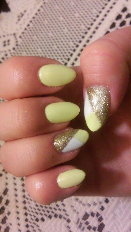 Semilac Banana & Gold Disco