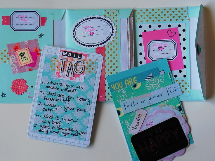Snail mail booklet | Flickr - Photo Sharing!