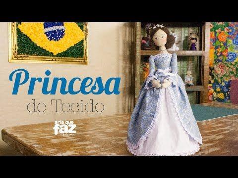 Boneca de pano - PASSO A PASSO - Karina Martins - YouTube
