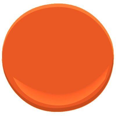 Perfect Festive Orange 2014 10 Paint   Benjamin Moore Festive Orange Paint Color  Details