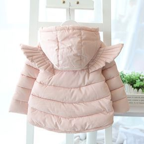 Детские куртки осень-зима из Китая :: Пальто зимнее девушки дети вниз 2015 девочек сгущаться хлопок девочек мультфильм хлопка куртка с крыльями.