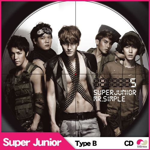 【韓国盤★CD】【楽天最低価】★5集TypeB★Super Junior(スーパージュニア)  SuperMan MR.SIMPLE  -VOL.5 [ Superman MR.SIMPLE] 【smtb-k】【kb】SUPER JUNIOR mr.simple ver B verB【楽天市場】