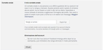 Redat24: Il signor Facebook pensa  anche alla nostra morte