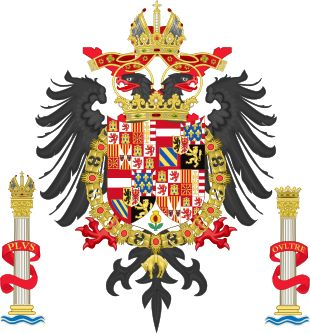 https://upload.wikimedia.org/wikipedia/commons/thumb/f/f1/Greater_Coat_of_Arms_of_Charles_V_Holy_Roman_Emperor,_Charles_I_as_King_of_Spain.svg/310px-Greater_Coat_of_Arms_of_Charles_V_Holy_Roman_Emperor,_Charles_I_as_King_of_Spain.svg.png