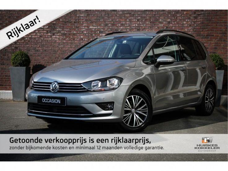 Volkswagen Golf Sportsvan  Description: Volkswagen Golf Sportsvan ALLSTAR 1.6 TDI DSG Automaat 110pk BlueMotion 21% Bijtelling Adaptive Cruise Navigatie Winterpakket  Price: 314.84  Meer informatie