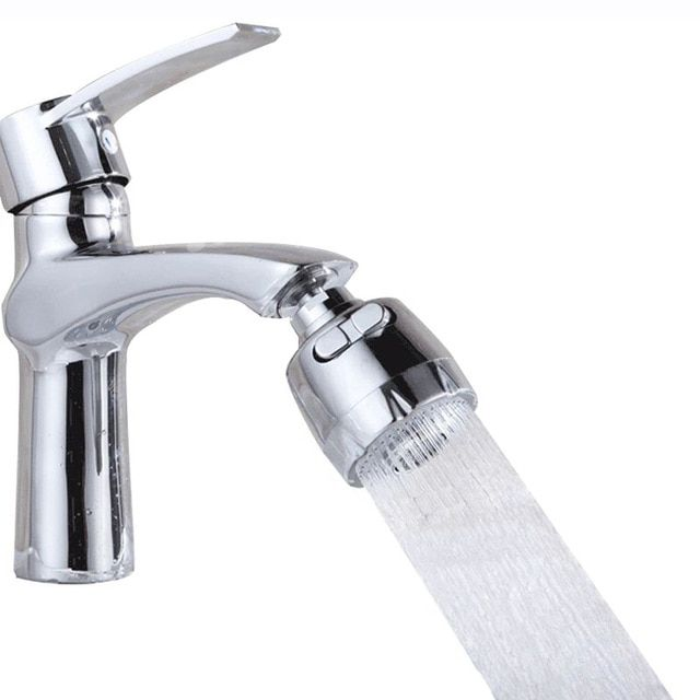 2 Modes Abs Stainless Steel Water Saving Bathroom Faucet Extender 360 Degrees Rotation Kitchen Faucets Filt Kitchen Water Faucet Faucet Extender Kitchen Faucet