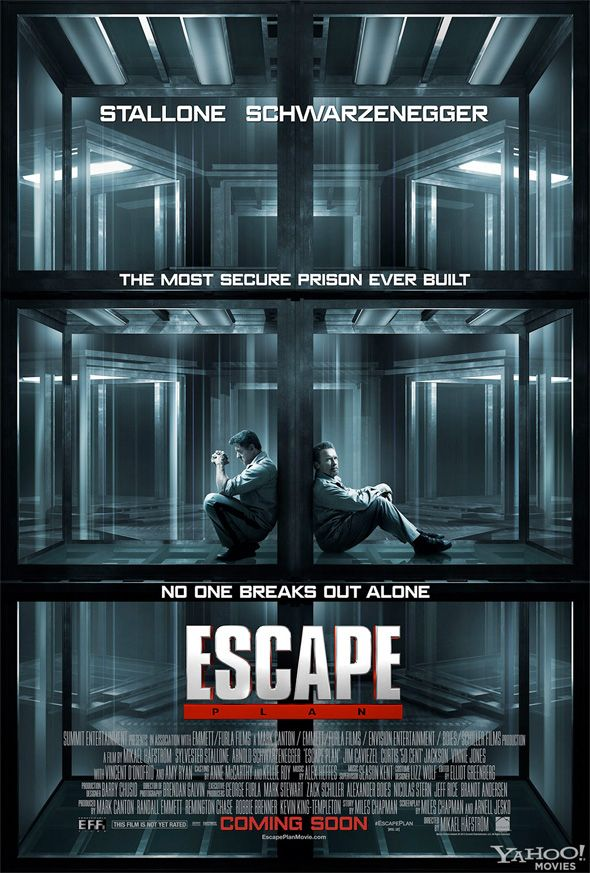 for the Schwarzenegger & Stallone prison flick called Escape Plan