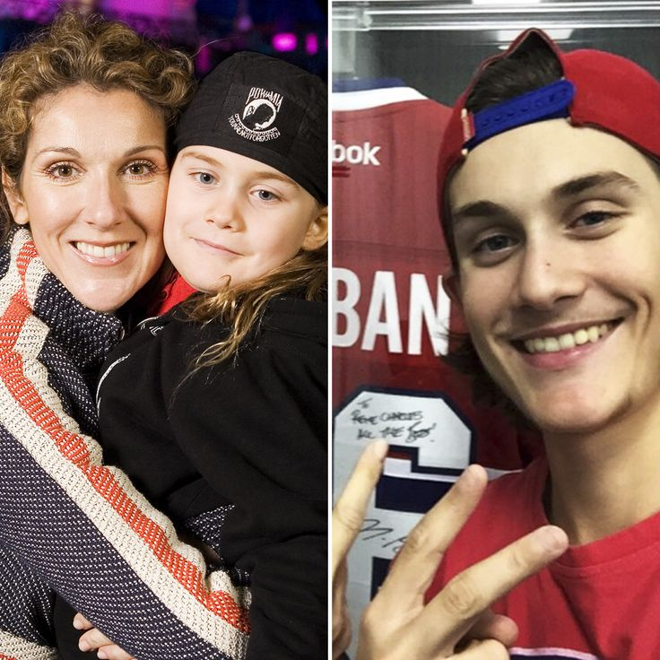Céline Dion's Son René-Charles Angelil is All Grown-Up — Plus See More Celebrity Kids Then and Now!