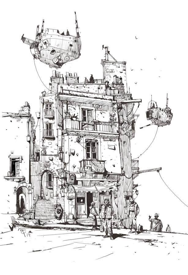 Sketchbook: 'Terminus'.