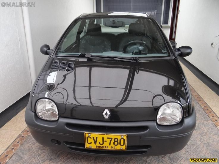 Renault Twingo - AUTO - CAR - AUTOMOVIL - TUNING - Modificado - NEGRO - BLACK @MALBRAN